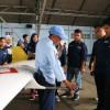 MAHASISWA DEPARTEMEN TEKNIK DIRGANTARA KUNJUNGI SKATEK 043 LANUD ADISUTJIPTO